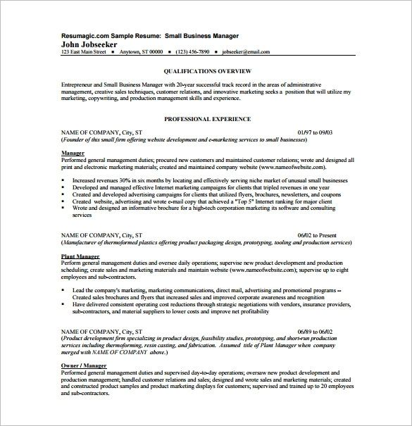 Resume Templates Business Domaregroup Business Resume Business Resume Template Resume Template Word