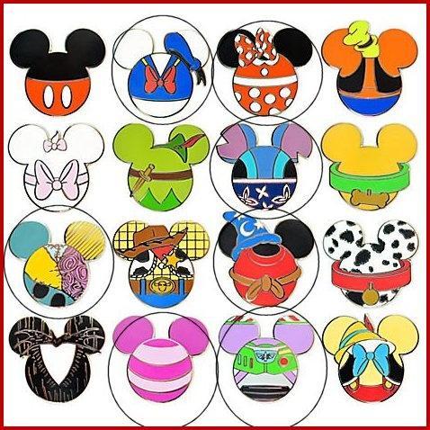 Mickey Character Heads