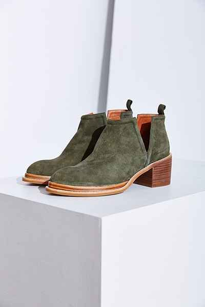 Suede Ankle Boots for Fall