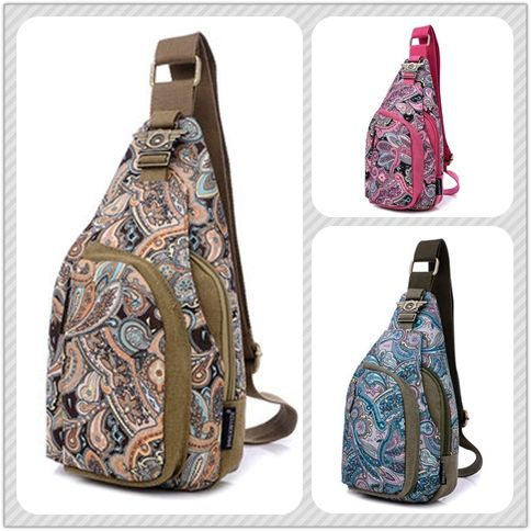 Women Flower Pattern Portable Casual Shoulder Bags Chest Bags is Worth Buying - NewChic