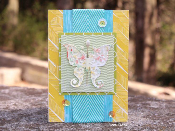 Scrapbooking Crafts: Открытка для блога Хобби Всем!