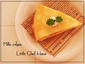 「優しい味〜しっとりミルクレープ」kanatable | お菓子・パンのレシピや作り方【corecle*コレクル】