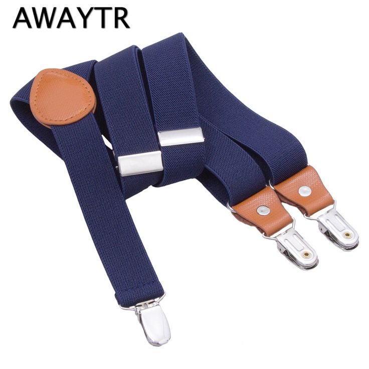 >> Click to Buy << Baby Suspenders AWAYTR Kids Braces Strong 3 Clips Boy Suspenders Trousers Suspensorio Elastic Strap 2.5*60cm 16 colors #Affiliate