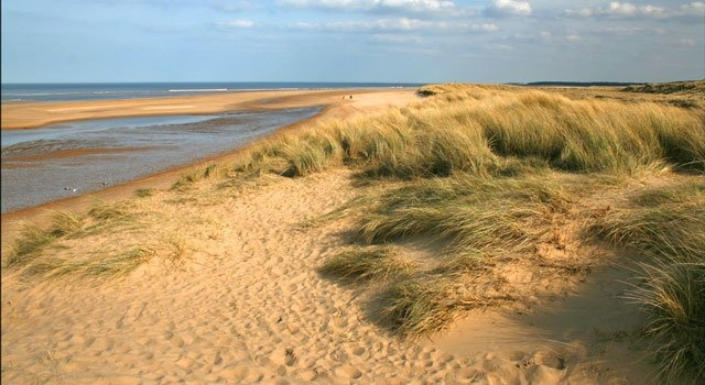 The prudes from the Holkham Estate have just banned the naturists who have been coming to this fabulous beach for years. Shame.