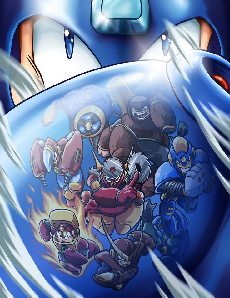 Mega Man and Bosses 2 by SebastianvonBuchwald