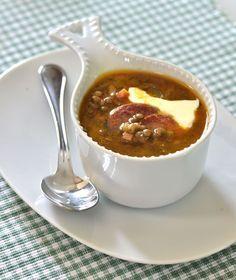 Francouzská čočková polévka — Kluci v akci — Česká televize