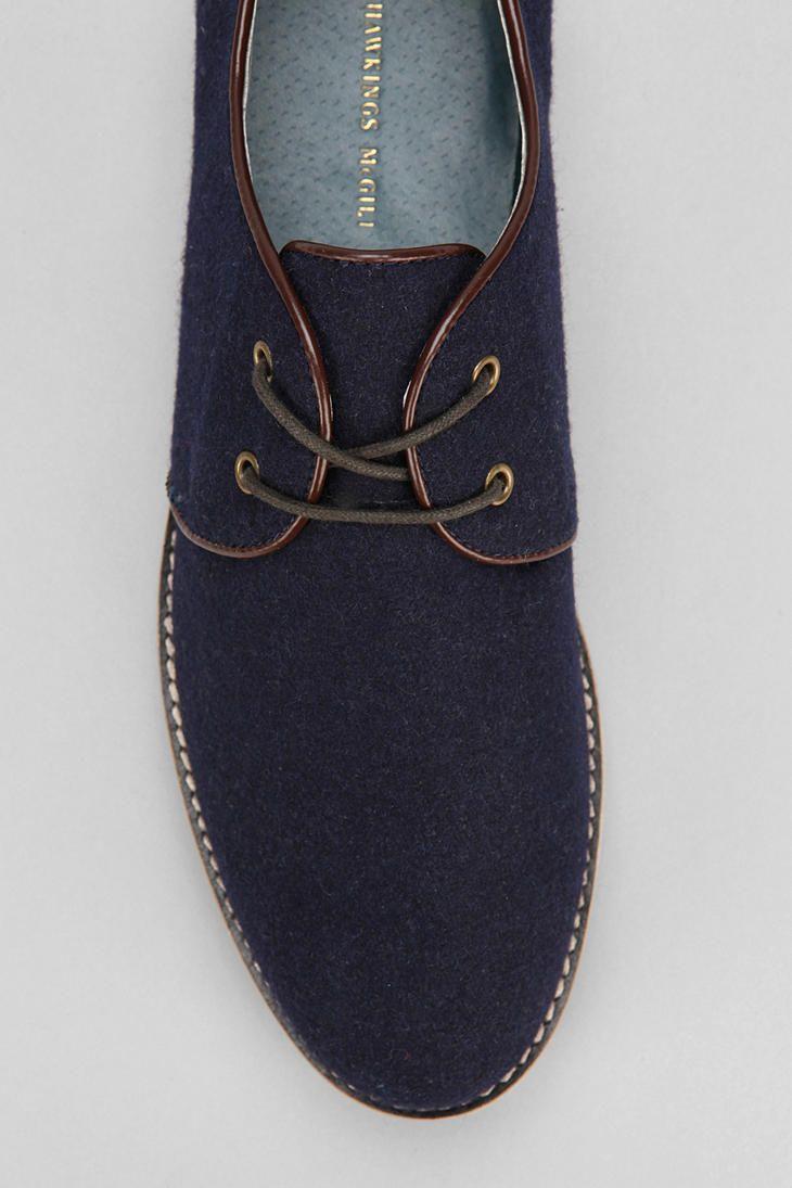 Hawkings McGill Wool Derby Shoe