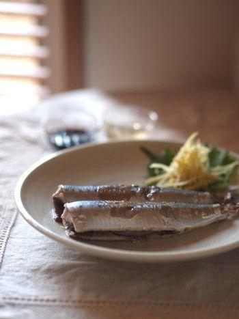 栄養満点!【いわし・さんま・あじ】青魚を使った家庭料理レシピ集 ... 沸騰させないお湯で茹でるのがポイントです。 食べ方は、シンプルに