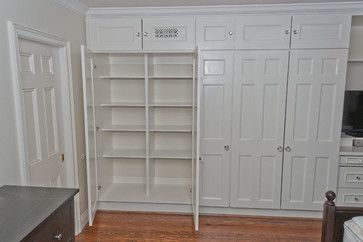 Traditional Storage & Closets master bathroom storage Design Ideas, Pictures, Remodel and Decor
