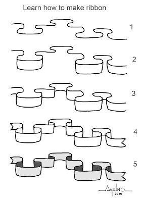 aquinomachado@gmail.com: Learn how to make ribbon
