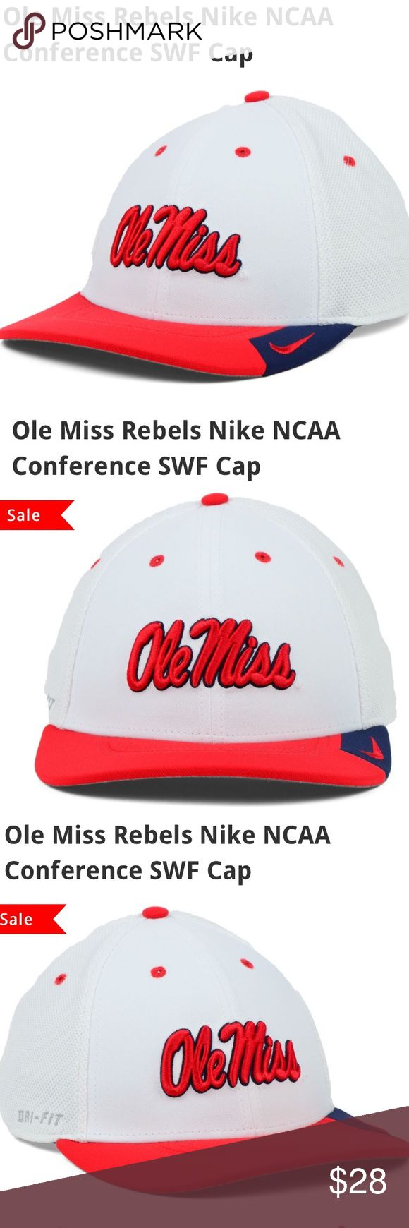 🆕 Nike Ole Miss Rebels NCAA Conference Hat NWT L Brand new with tags! Thank you for looking! Nike Accessories Hats