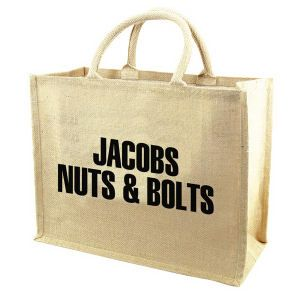 Jute Tote from http://www.schoolspiritstore.com/school-supplies-and-fun-stuff/plant-a-tree-cards/