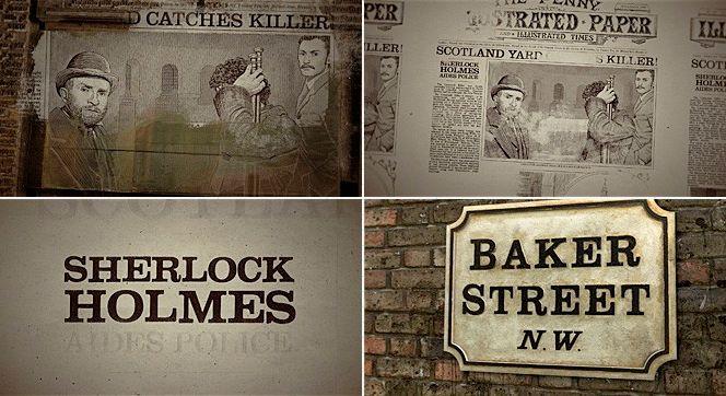 Créditos de Sherlock Holmes: una animación hermosa | Maquiladora de sueños - Diseño, arte y geek culture
