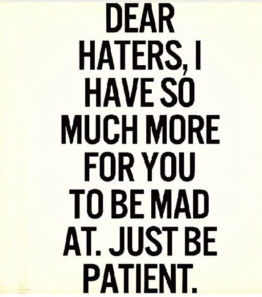 Ahhahahaha! This just hit my funny bone today! Some people just need someone to be mad at.