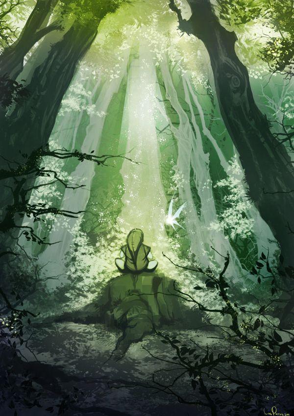Legend of Zelda painting