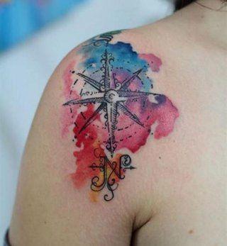 10 tatouages aquarelle repérés sur Pinterest - Cosmopolitan.fr