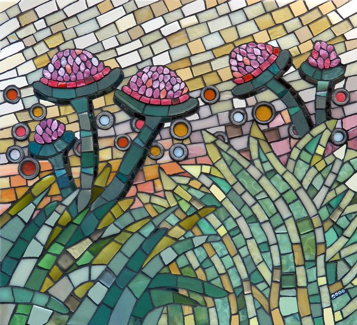 4327 best images about mosaics on pinterest mosaic wall for Mosaic landscape design