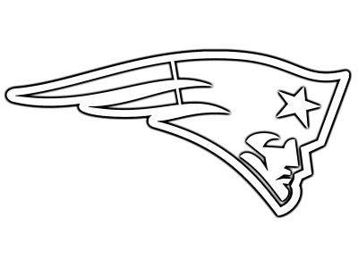 patriotslogodone1 New England Patriots Coloring Pages
