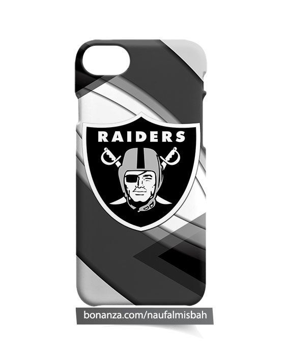 Oakland Raiders Logo iPhone 5 5s 5c 6 6s 7 + Plus 8 Case Cover - Cases, Covers & Skins