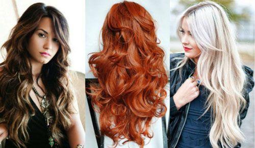 каскад на длинные волнистые волосы - Поиск в Google