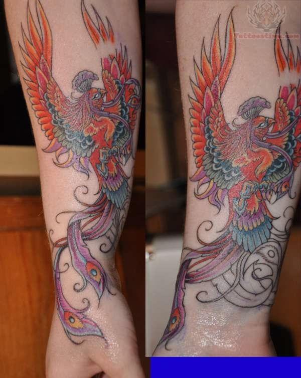 die besten 25 phoenix arm tattoo ideen auf pinterest. Black Bedroom Furniture Sets. Home Design Ideas