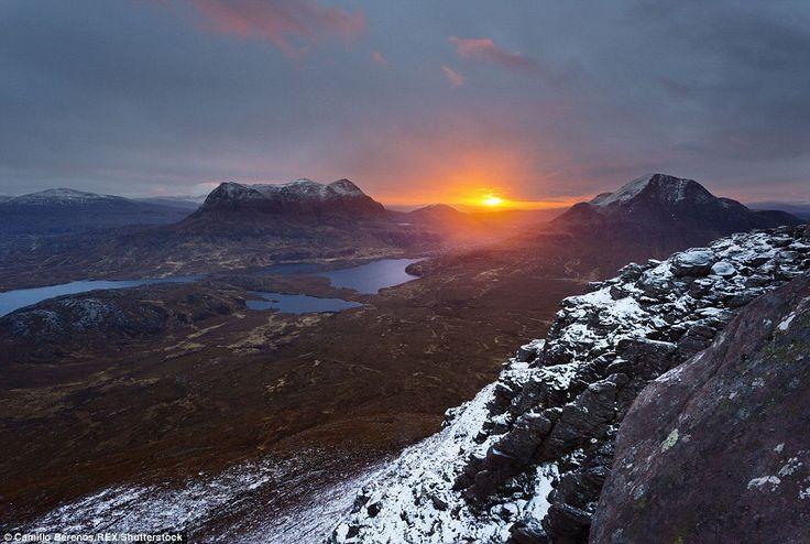 Не хуже Швейцарских Альп: работы фотографа, влюблённого в Шотландское высокогорье.