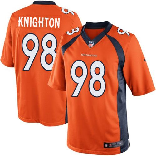 (elite nike youth ronnie hillman orange super bowl xlviii jersey) denver broncos home nfl easy retur