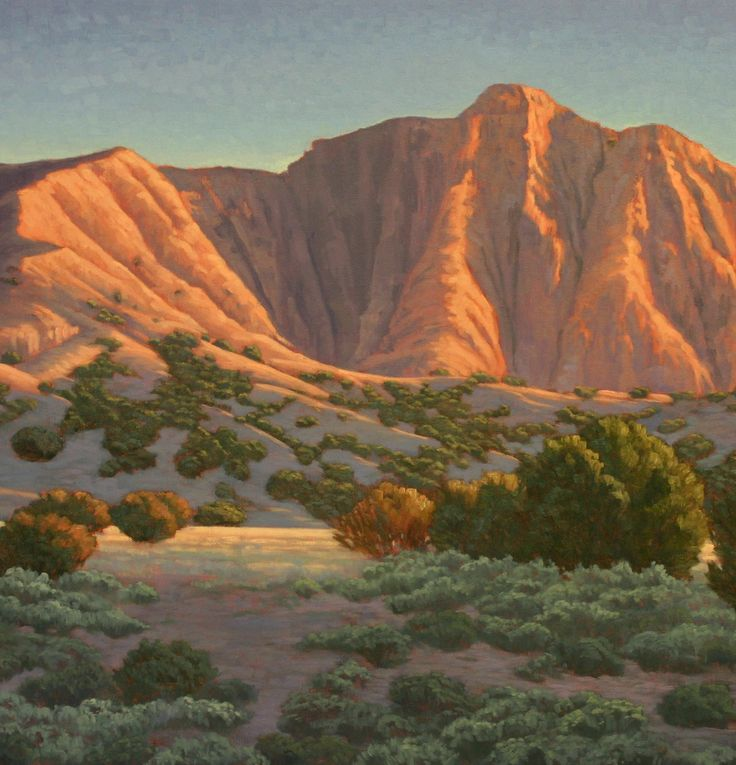 17 best images about new mexico landscape paintings on for Artwork landscapes