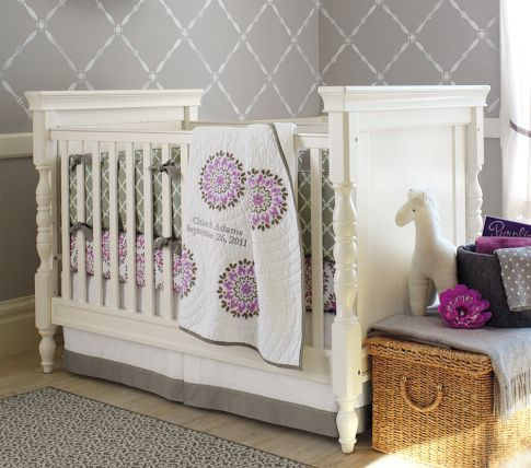 Harper Crib Pottery Barn Kids Baby Girl Decor