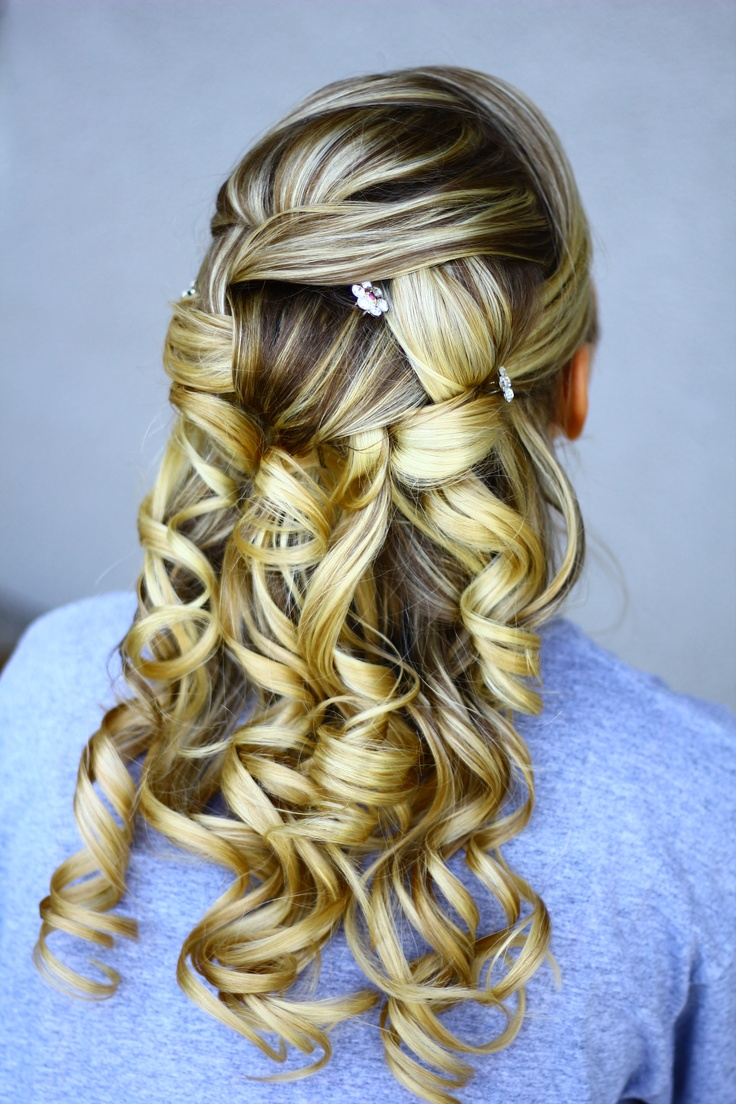 The best images about prom on pinterest waterfall braids updo