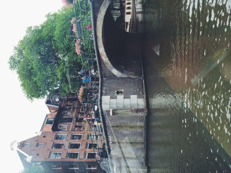 Amsterdam city.