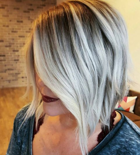 * HOW-TO >>> #behindthechair #blonde