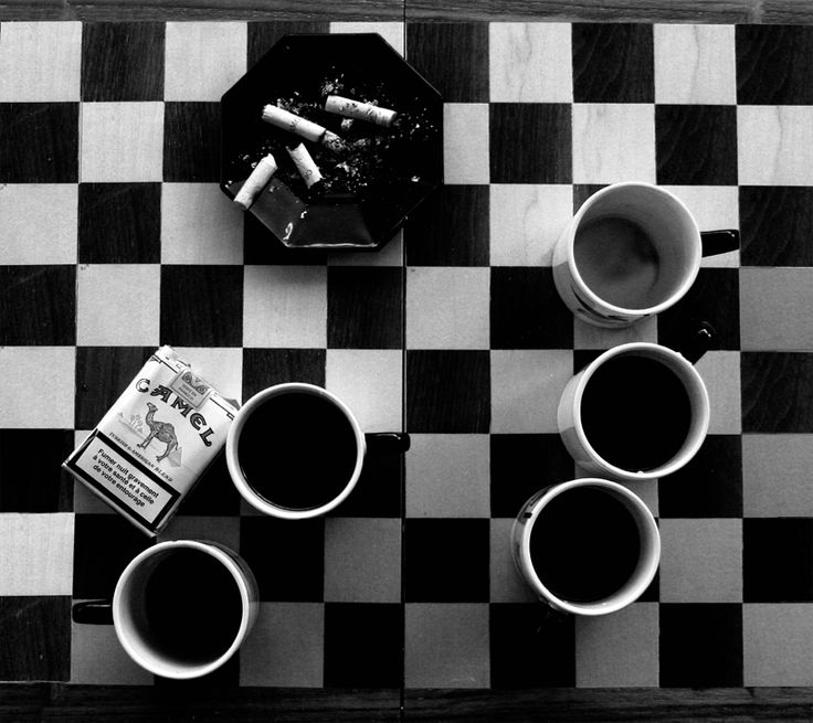 Coffee and Cigarettes – Directed by Jim Jarmusch; 2003