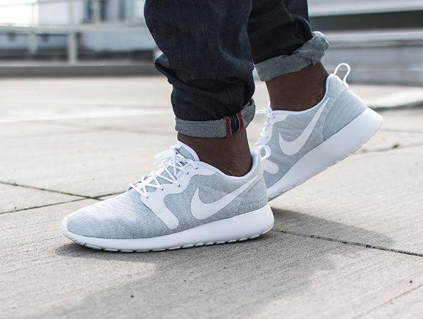 Nike Roshe Run Jacquard Knit Pure Platinum | sneaker | Pinterest | Roshe  and Nike roshe