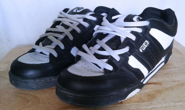Men's DVS by Steve Berra S/BERRA4 SM Skate Shoes Black/White Size 9.5 US/8.5 UK #DVS #Skateboarding