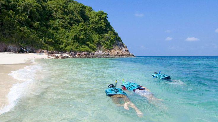 Snorklausta Koh Samet -saarella. #Kohsamet #Thaimaa #Thailand #snorkling