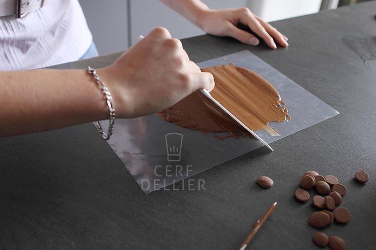 Шоколадные завитки