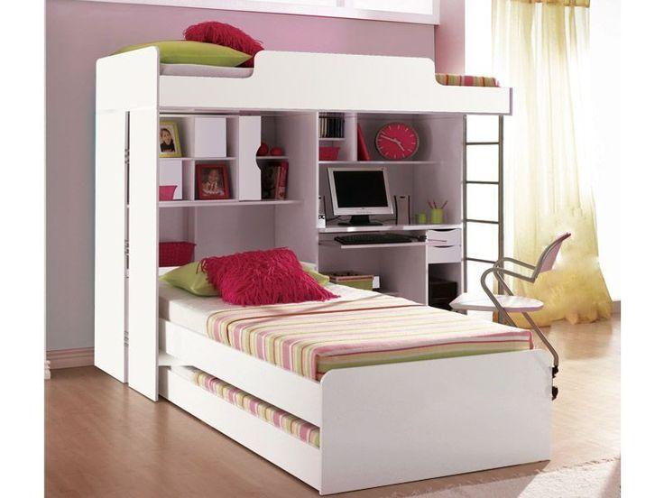 cama treliche com superior invertido - otimiza espaço