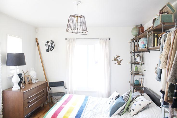 les 17 meilleures images du tableau optimiser une petite chambre sur pinterest chambres. Black Bedroom Furniture Sets. Home Design Ideas
