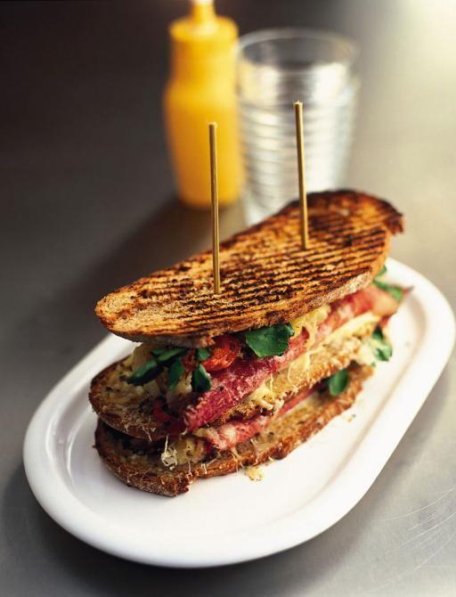 reuben-ish sandwich   Jamie Oliver   Food   Jamie Oliver (UK)