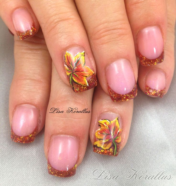 14 best Fall Nails images on Pinterest | Nailart, Autumn ...
