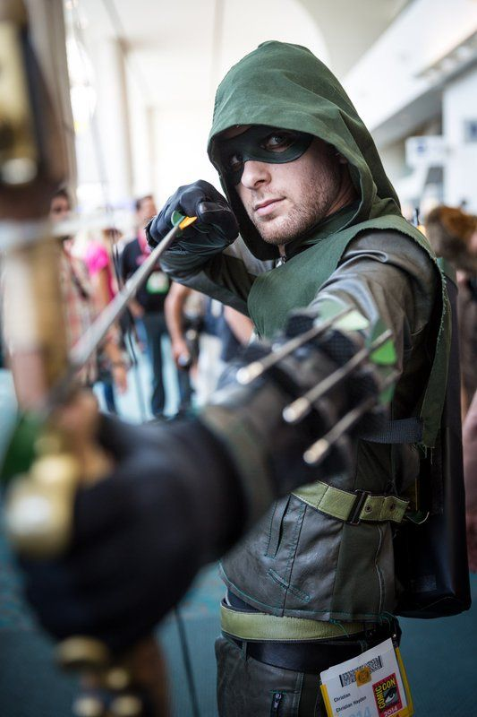 Green Arrow Cosplay - #SDCC San Diego Comic Con 2014