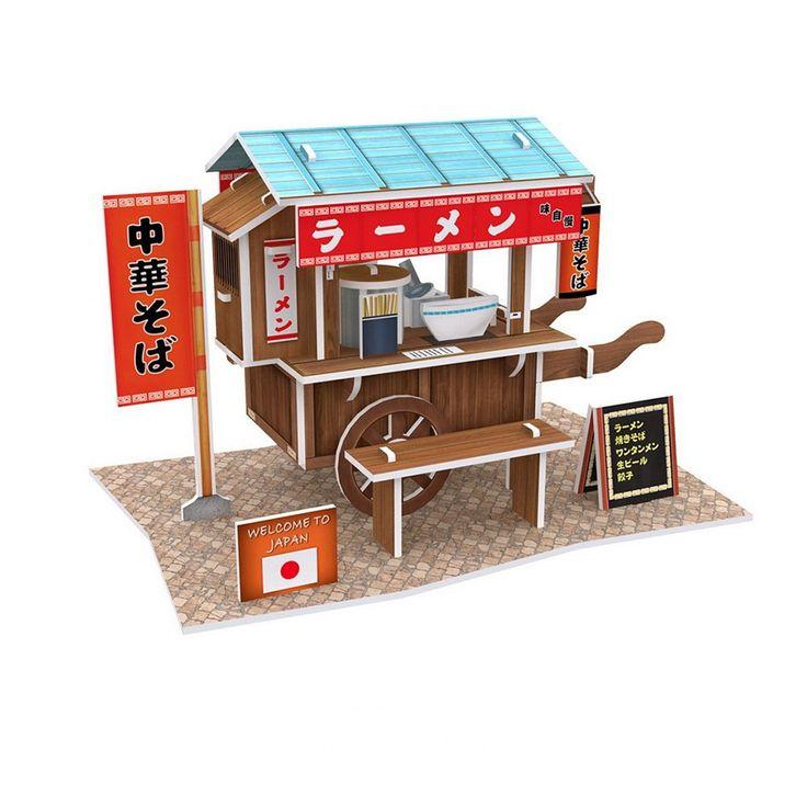 Cubic Fun W3103h - Xếp Hình Ramen Stand / Ramen Cart - giảm giá 12% | KAY.vn