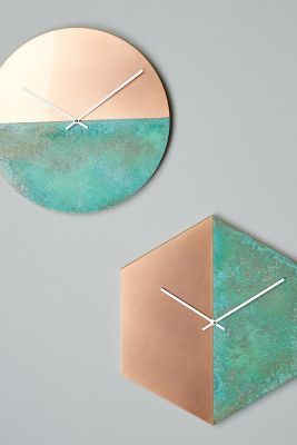 Mmmmm, rose gold and teal