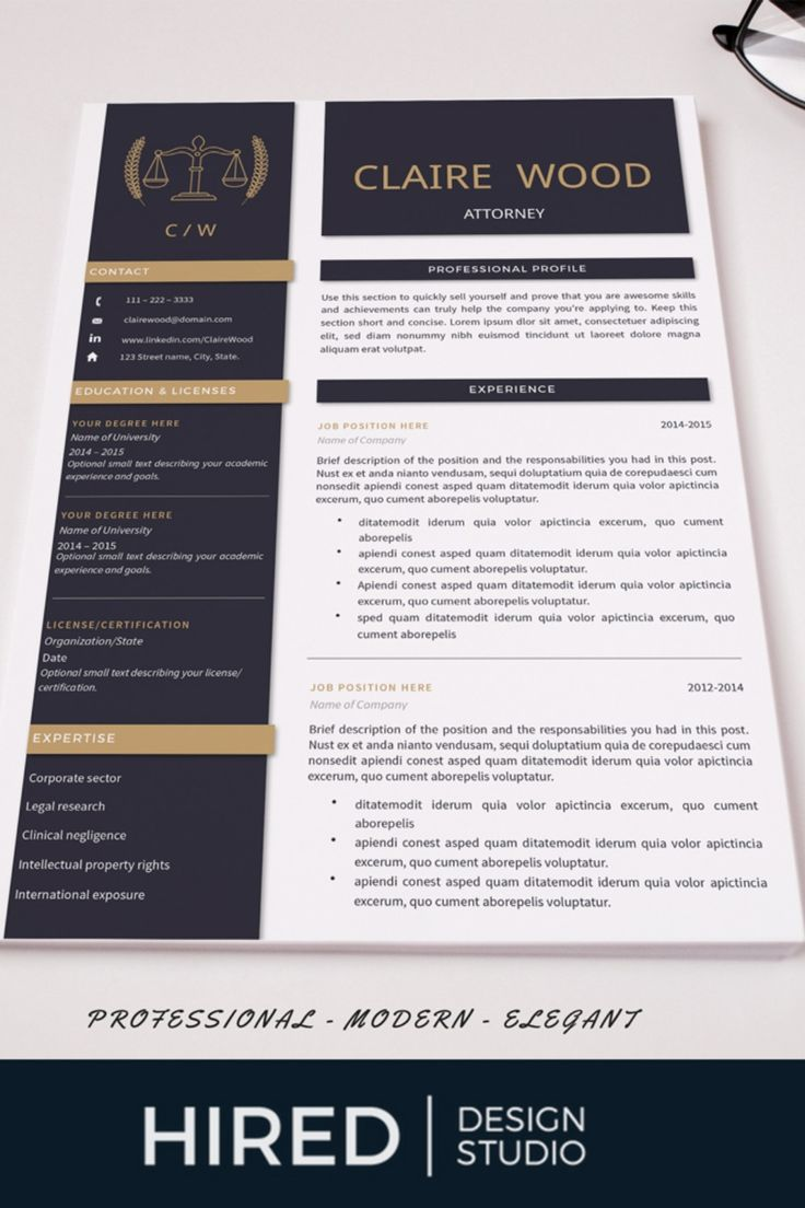 Attorney Resume Template Lawyer Resume Legal Resume Cv Etsy Cover Letter For Resume Resume Template Resume Cv