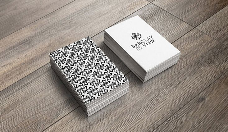 Barclay On View Business cards