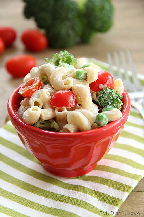 Classic Macaroni Salad » Eat. Drink. Love. Low fat greek yogurt added ...