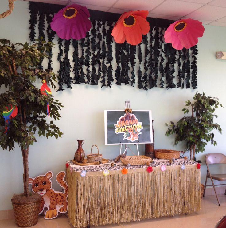 Jungle Safari Vbs: Jungle Safari VBS I Love How The Flowers