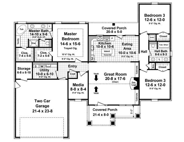 1,853 sq ft UltimatePlans.com : Home Plans - House Plans & Home Floor Plans - Find your     dream house plan from the nation's finest home plan architects & designers.     Designs include everything from small houseplans to luxury homeplans to     farmhouse floorplans and garage plans, Luxury Home plans, buy floor plans,     bungalow plans, architectural plans, apartment home plans, house plans, floor     plans, DIY house plans, plans, home plans search engine, Ultimate plans