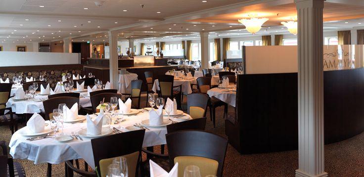 AmaWaterways - Restaurant aboard AmaLyra